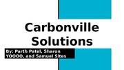 Carbonville Assignment