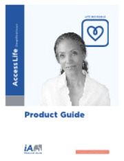 ACCESS LIFE - Product Guide