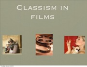 Classism in Movies Student Examples