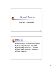 rsa algorithm in network security pdf