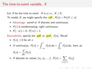 Lecture Time to Event Variable