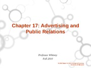Ch. 17 Ads and PR student version