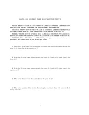 2011 Fall Midterm 1150 Practice Test 3