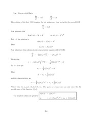 Differential Equations Lecture Work Solutions 254