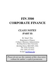 FIN 3500_Class Notes_Part II_students_Spring 2017