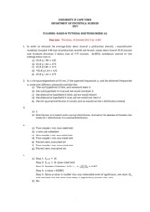 2013 - STA1000S Handin tutorial week 11 v2 answers