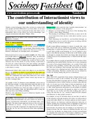 Interactionism Factsheet.pdf