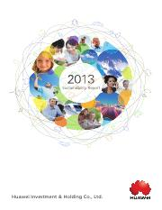 2013Huawei sustainability report-final.pdf