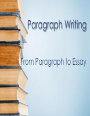 From Paragraph to Essay.pdf