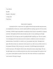 Ciara Jenkins - Final Essay The ONE paragraph essay.pdf