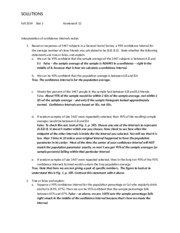 Stat 2 Fall 2014 Homework 12 Solutions