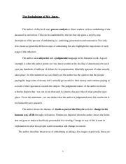 the embalming of mr. jones thesis