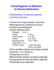 volume reduction notes