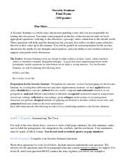 Socratic Seminar-Final English 9 the new one
