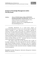 1198_Alireza_Anvari_Analysis_of_Knowledge_Management_within_Five_Key_Areas