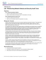 1.5.1.1 Lab - Researching Network Attacks and Security Audit Tools.pdf