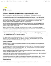 EY Reporting: Issue 9 - How big data and analytics are transforming the audit - EY - Global.pdf
