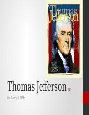 Thomas Jefferson [TJ]