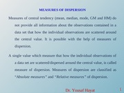 3_Measures of Dispersion