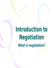 ADR 4 - Introduction to Negotiation (1).pptx