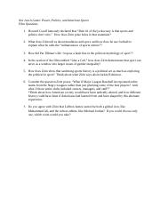Not Just A Game Questions(1)-2