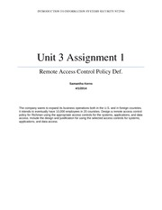 nt2580 unit 8 Nt2580 graded assignments essay instructors must remind students to retain all handouts and assignment documents issued in every unit 8 pages nt2580.