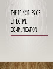 The Principles of effective communication.pptx