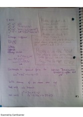 math is in your hand, class notes