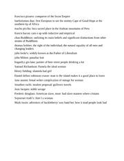 Performance art thesis statement