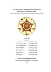 core competencies at walt disney company