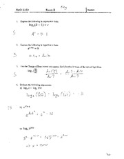 Exam II With Solutions