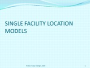 11Facilitylocationmodels2009