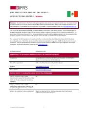 Mexico-IFRS-Profile