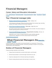 Financial Managers.docx