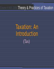 Sessions 02_Introduction_Tax