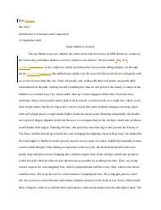 Writing to Show_Anthology Project Final Draft - Khai Nguyen