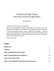 A Vindication of the Rights of Women - Wollstonecraft.pdf