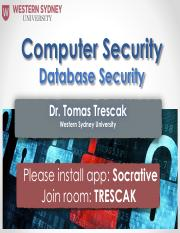 10 - Database Security