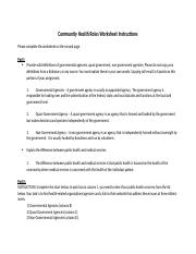 Week 2 Assignment 1 Community_Health_Roles_Worksheet