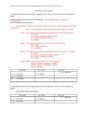 M11L3P1 Heating Curve Problems Answer Key - Heating Curve ...