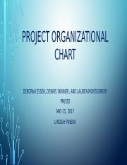 PM582 Week 2 Team B Project Organizational Chart v6