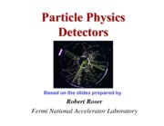 Particle Physics Detectors Notes