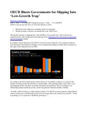 OECD Blasts Governments for Slipping Into Low-Growth Trap.pdf