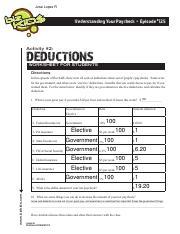 PracticePay.pdf - Jose Lopez R Understanding Your Paycheck ...