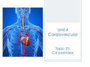 Cardiovascular Unit Lecture