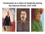 Chapter 28 -  Interwar Period Communism