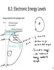 Energy quantization
