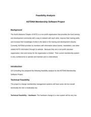 Feasibility Analysis-G3 Consulting-2014