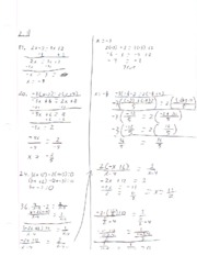 module one algebra assignment