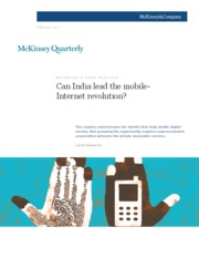 Can India lead the mobile-Internet revolution